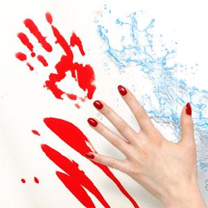 Introwizard Bloody Bath Mat
