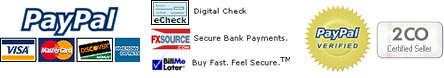 Secure Payment: Paypal verified