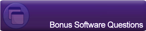 Bonus Software Questions