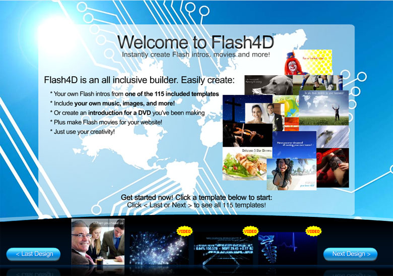 discover more about it tour flash website builder software